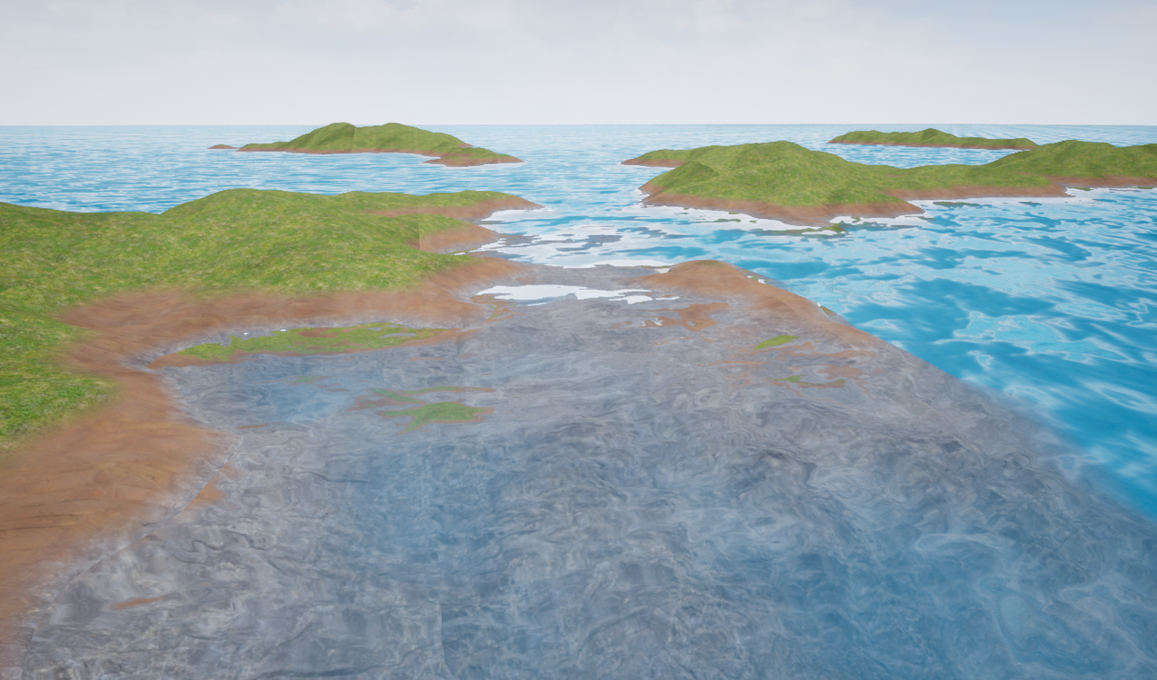 Unreal Engine 4: Generating a procedural terrain with an underwater world (Part 1) - Perlin Noise